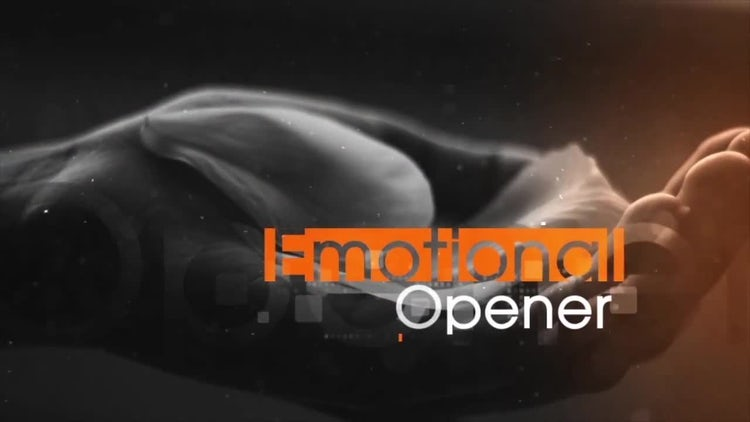 Emotional Slide: After Effects Templates