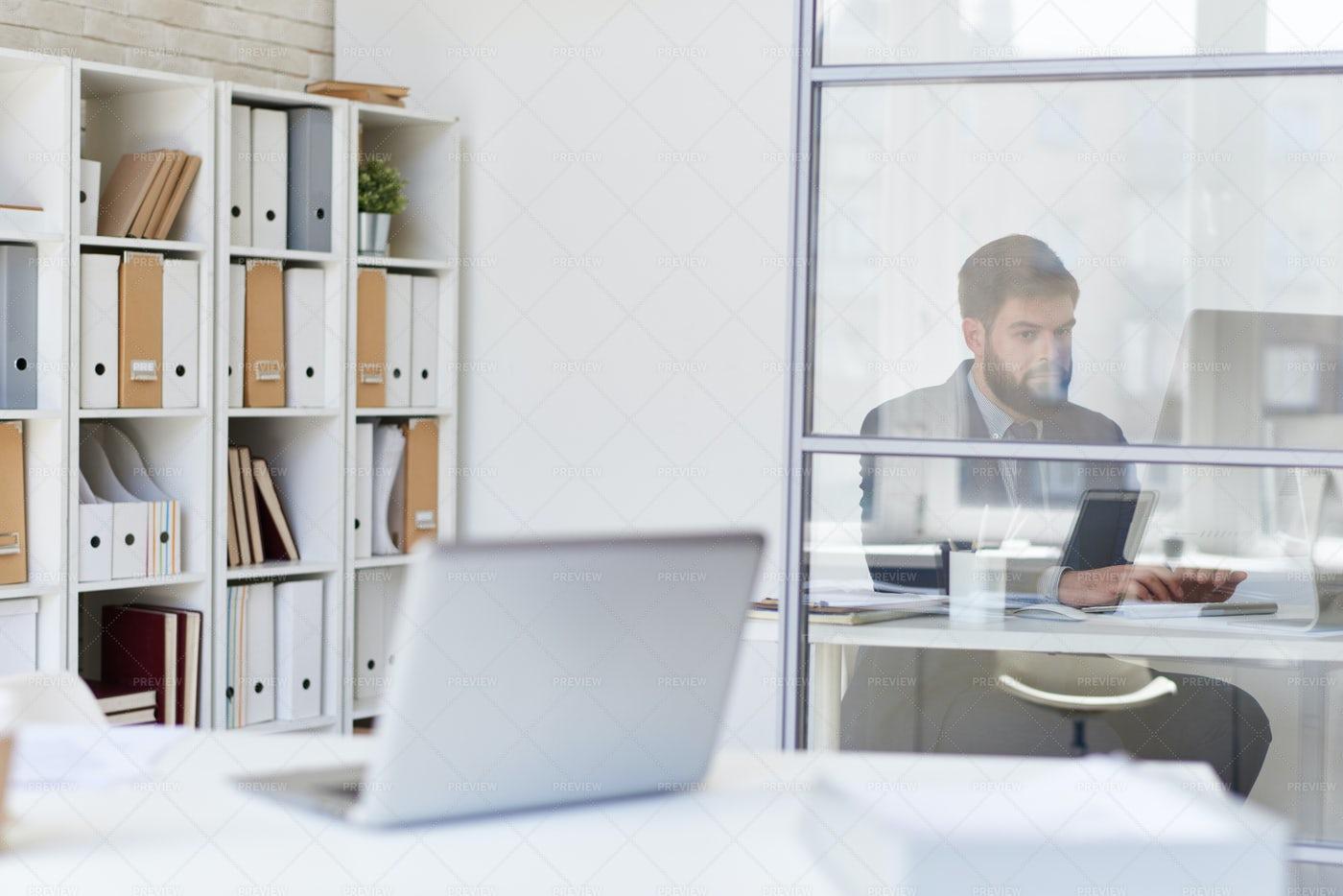 Modern Office Space: Stock Photos