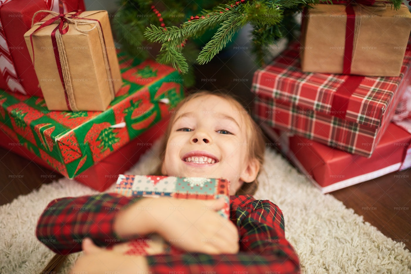 Enjoying Christmas Atmosphere: Stock Photos
