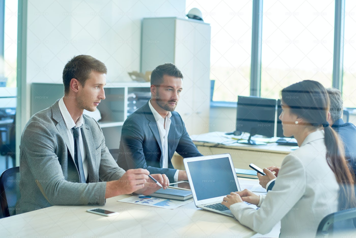 Meeting Of Business Partners: Stock Photos