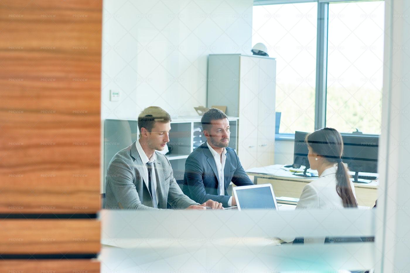 Business Meeting, Copy Space: Stock Photos