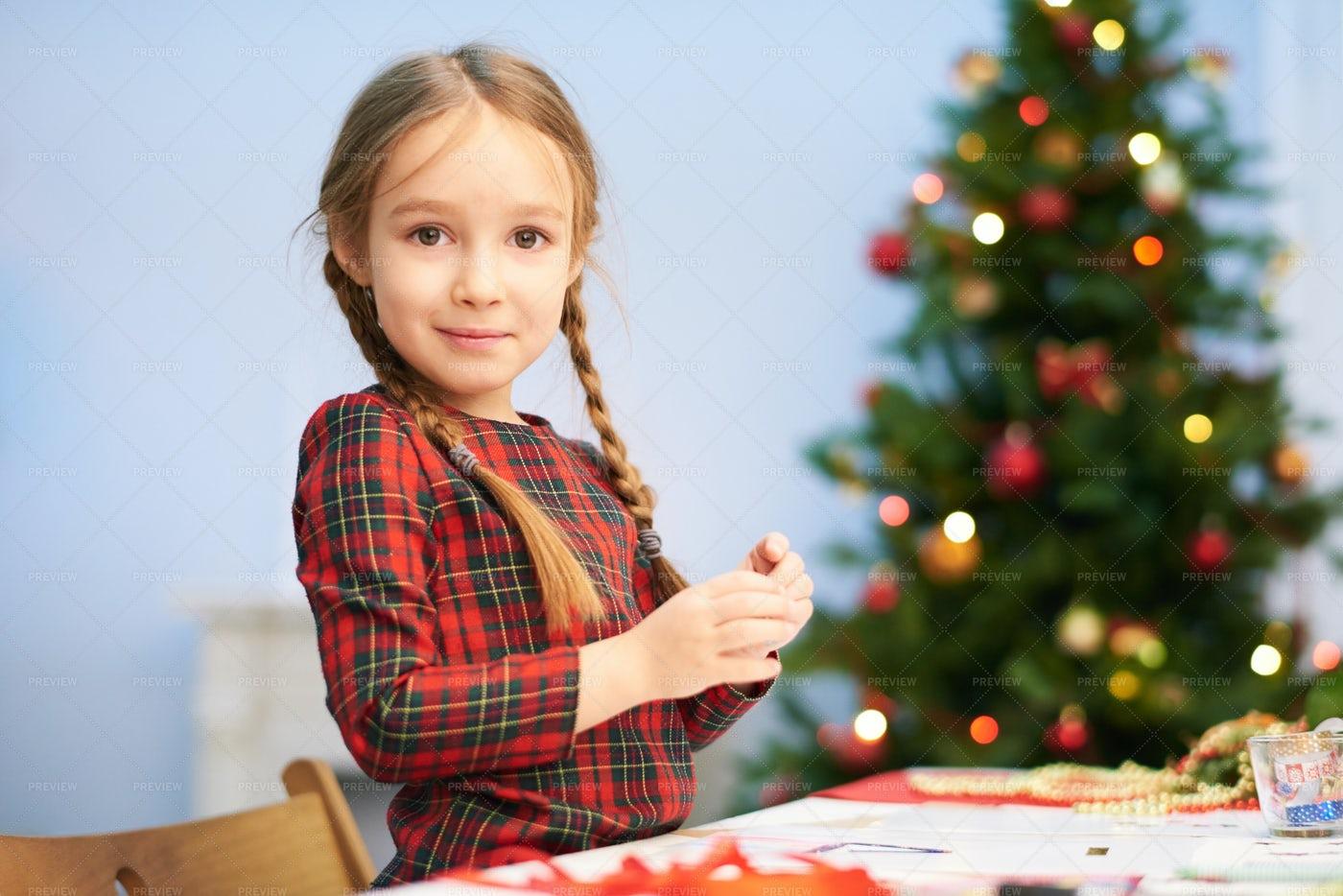 Preparing Christmas Surprise: Stock Photos