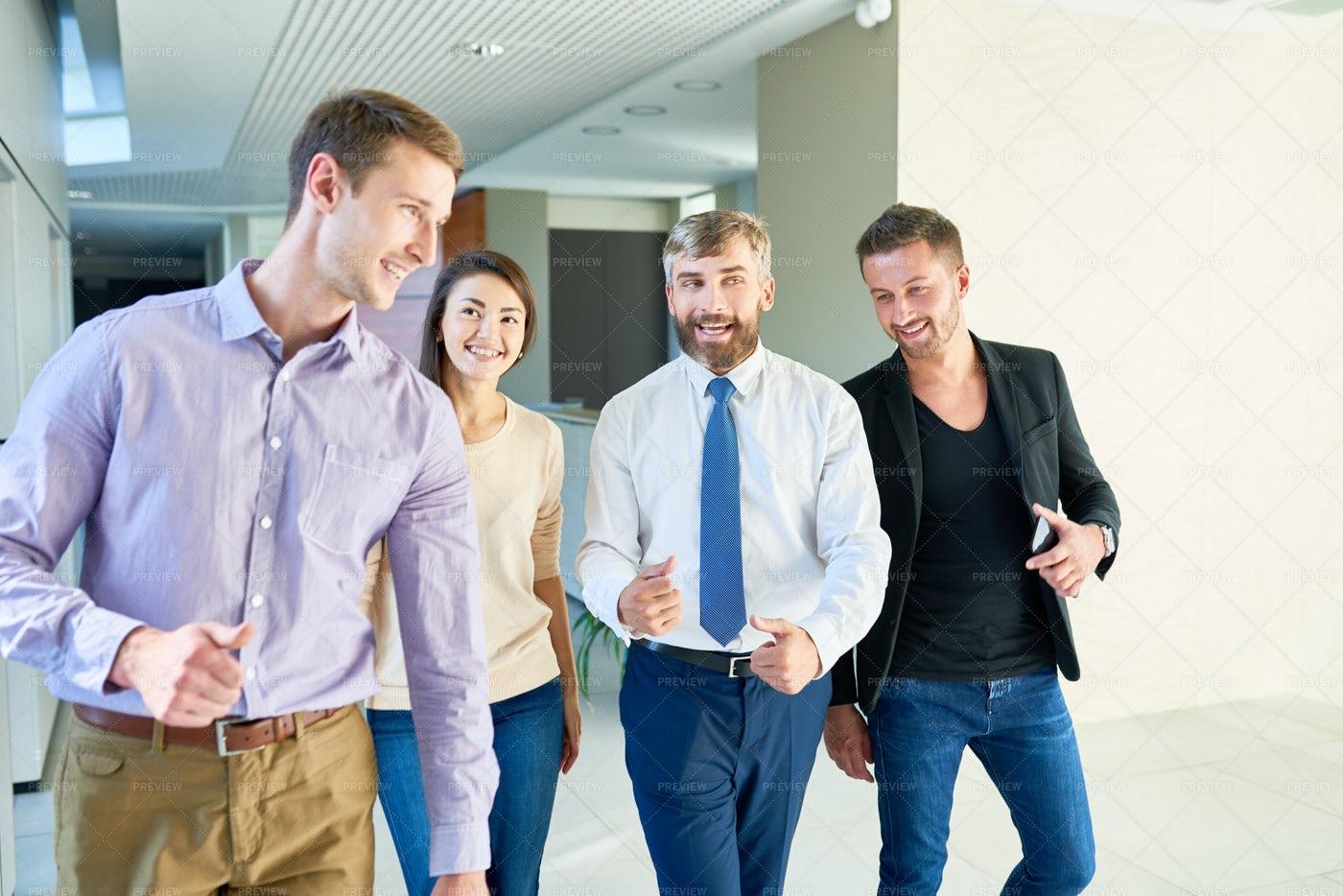 Having Fun With Colleagues: Stock Photos