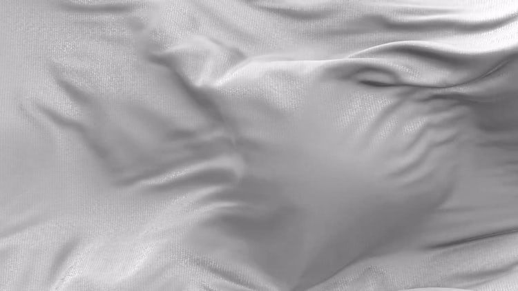 Animated White Cloth: Motion Graphics