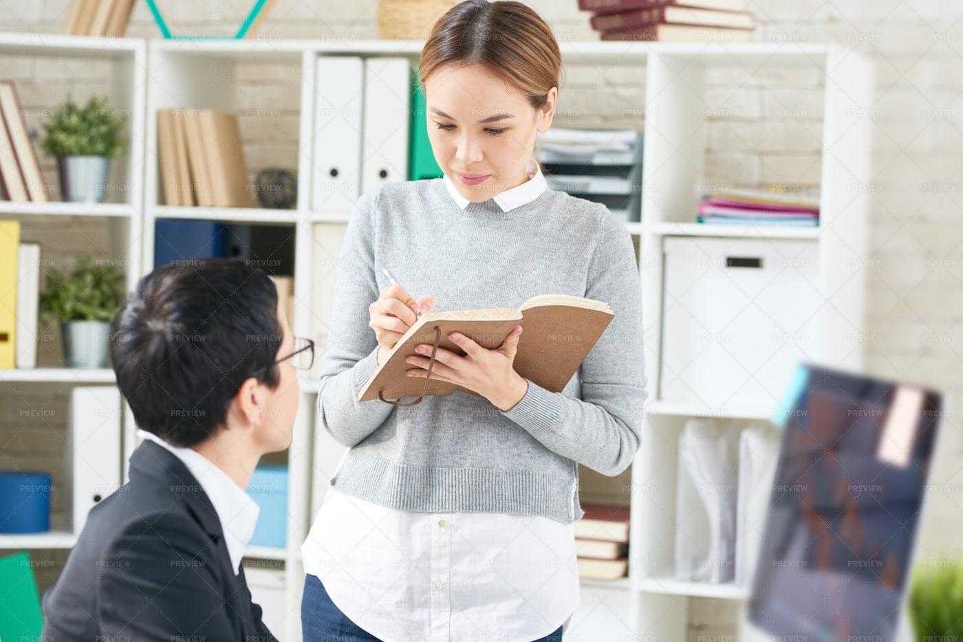 Informal Working Meeting At Open...: Stock Photos