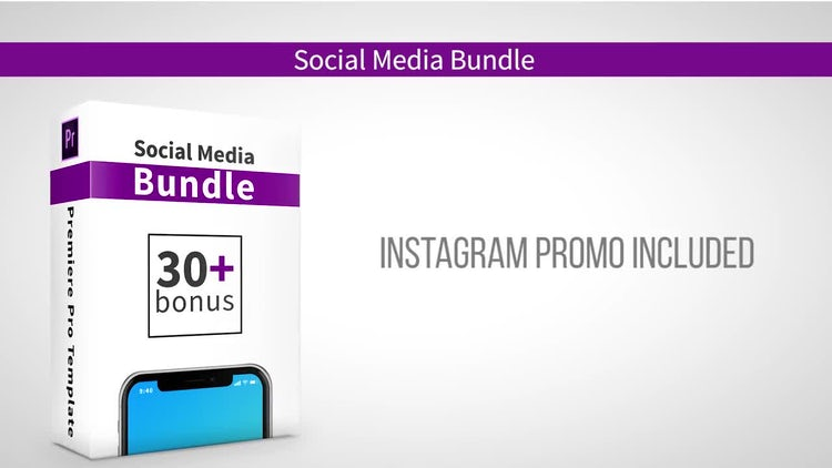 Social Media Bundle: After Effects Templates