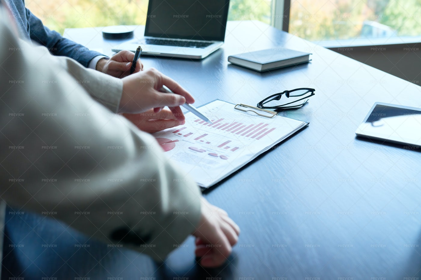 Business Analytics In Office: Stock Photos