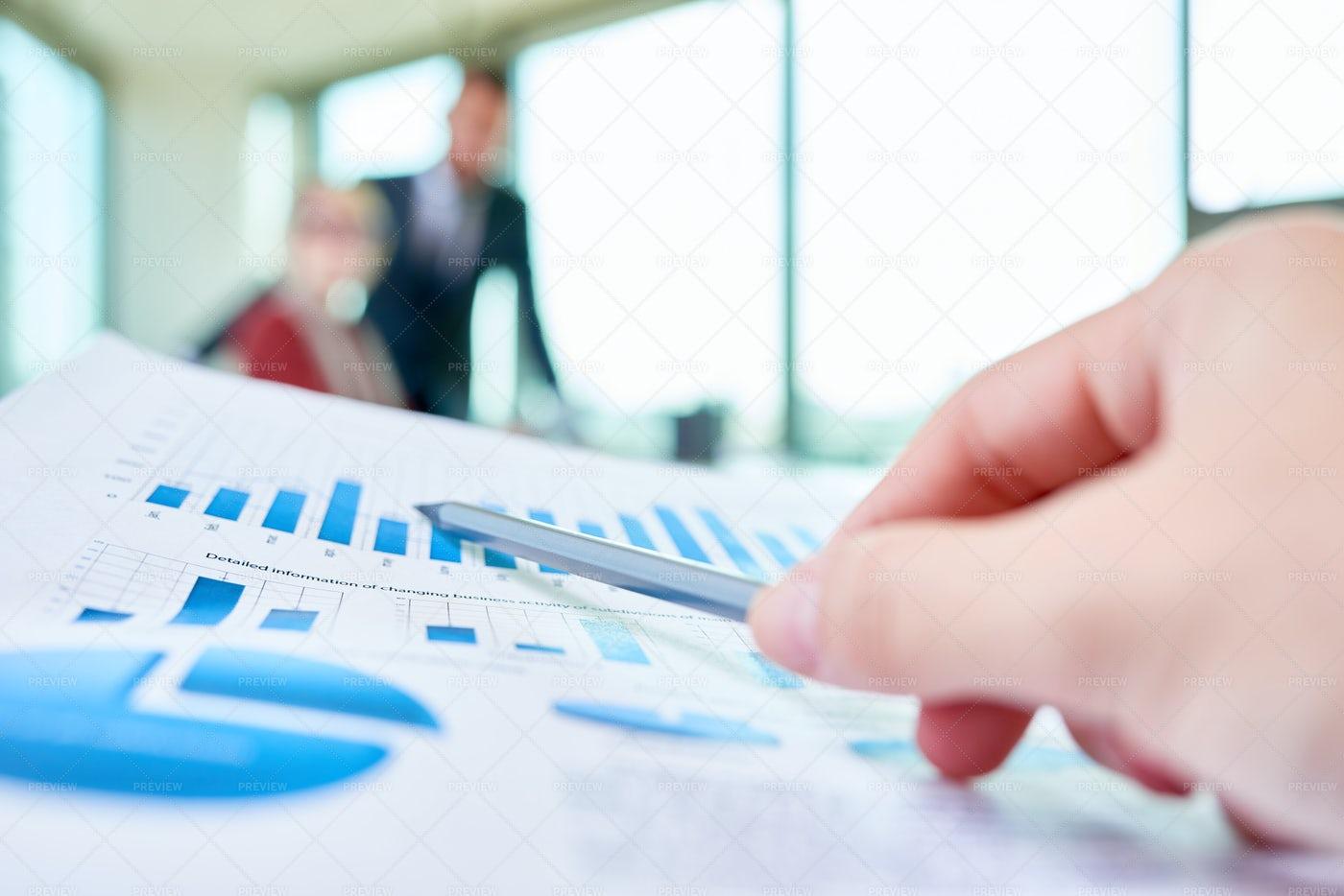 Studying Statistical Data: Stock Photos