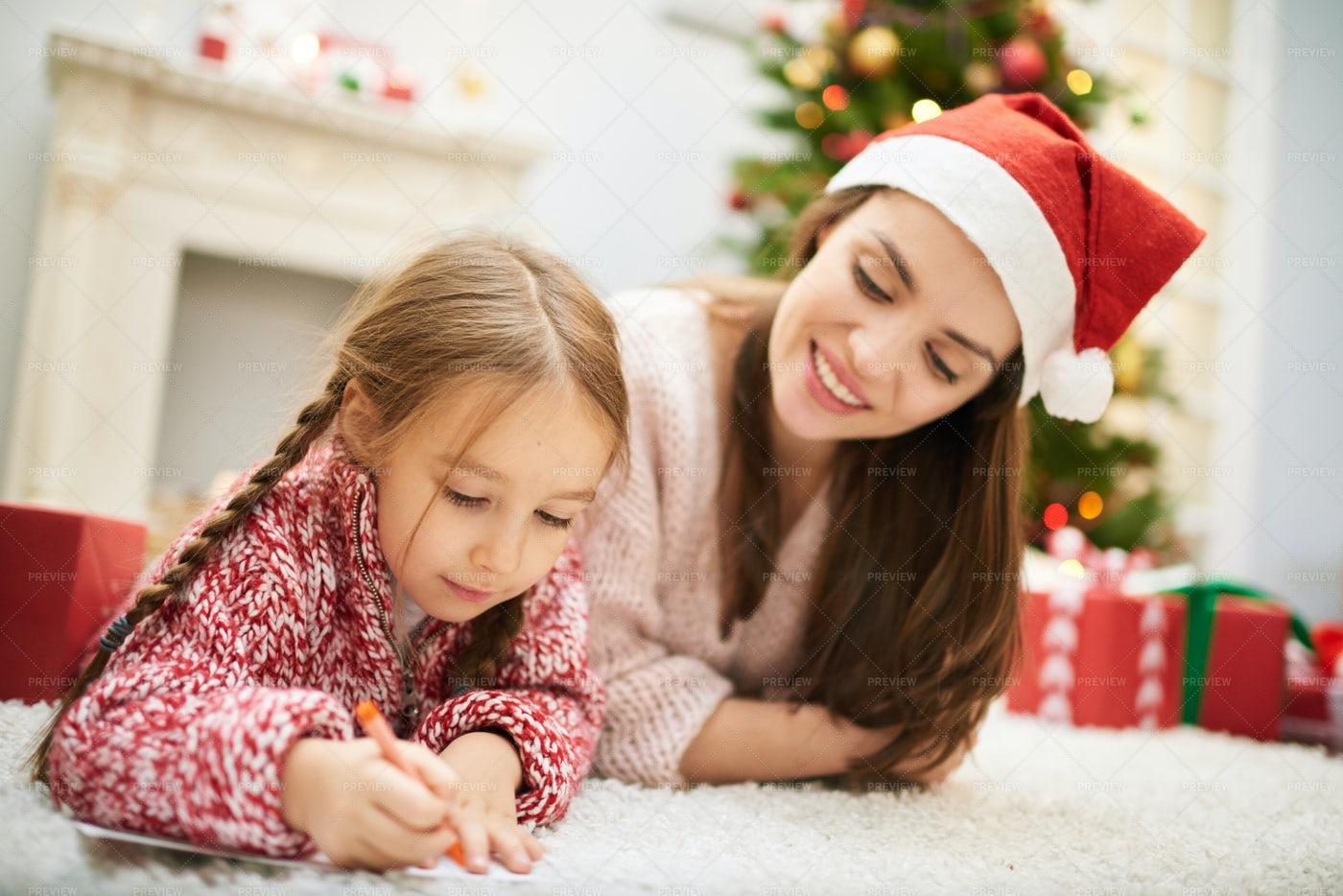 Dear Santa: Stock Photos