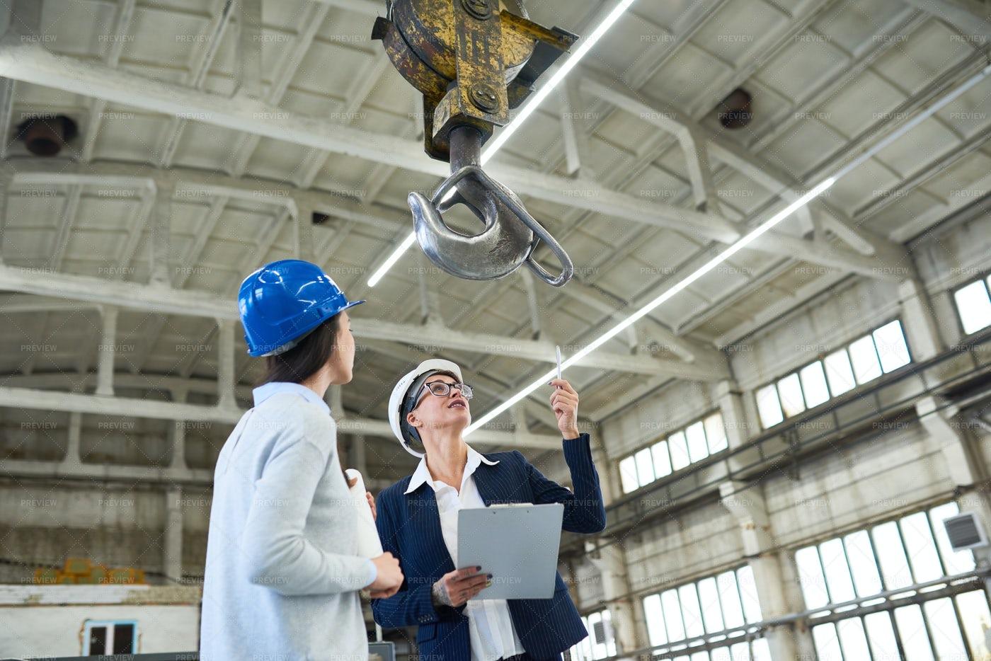 Female Building Contractors...: Stock Photos