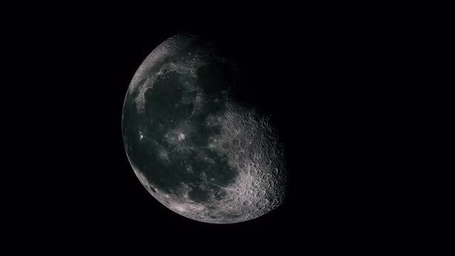 Phases Of The Moon: Stock Motion Graphics