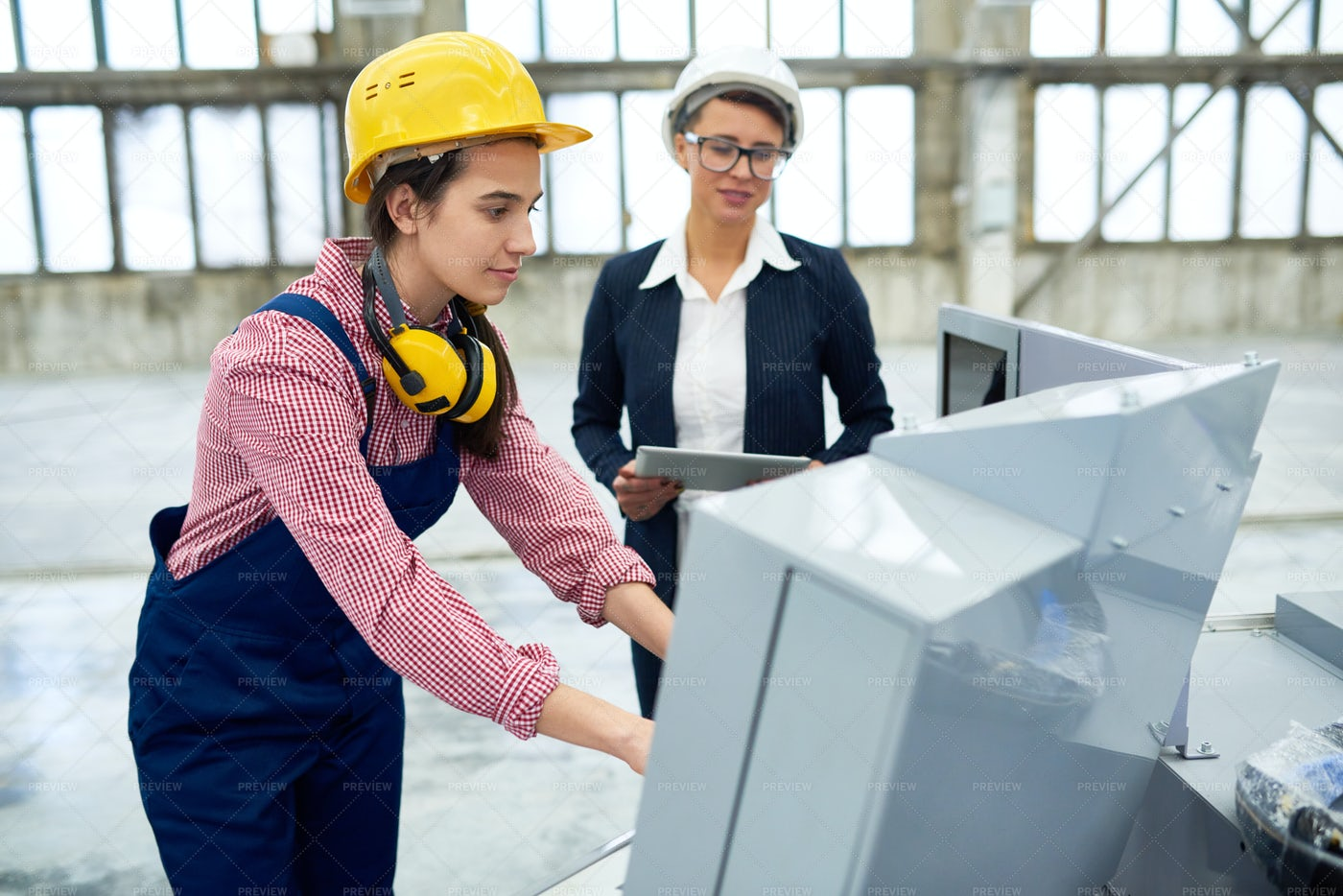 Automation Of Machine Tools In...: Stock Photos