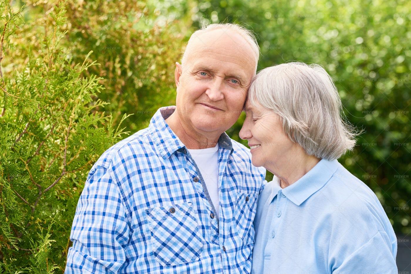 Happy  Long Marriage: Stock Photos