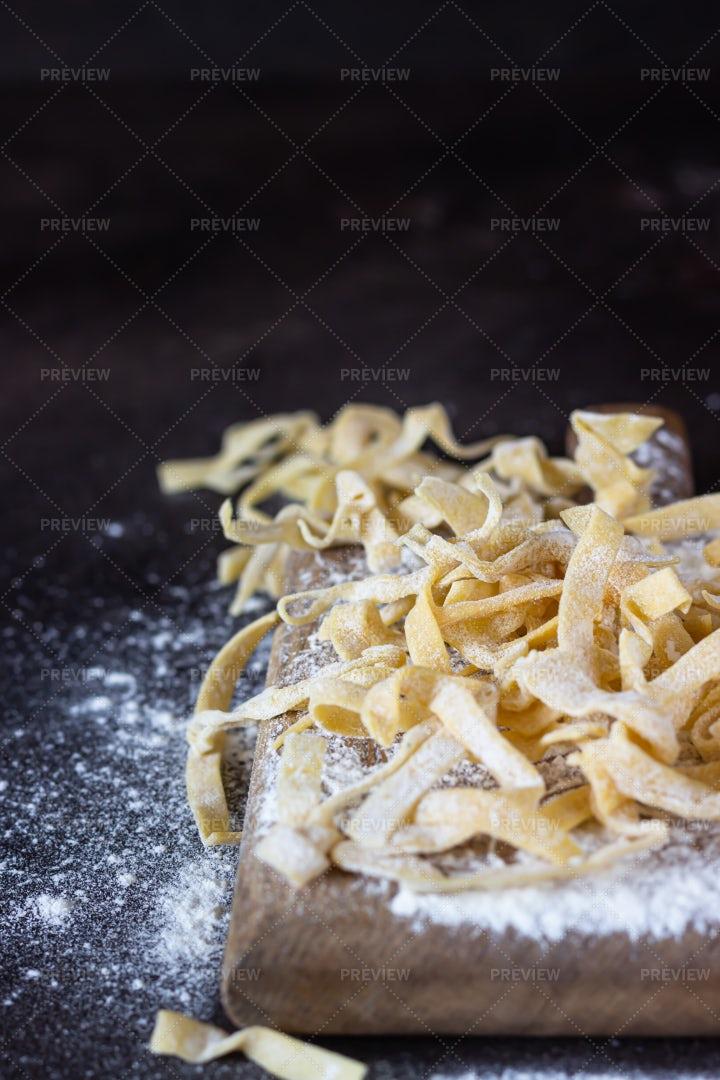 Raw Pasta: Stock Photos