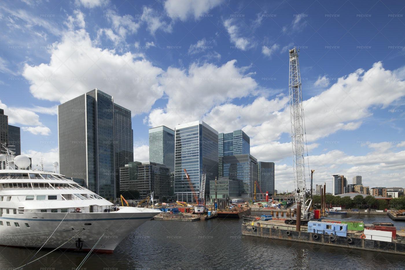 Canary Wharf: Stock Photos