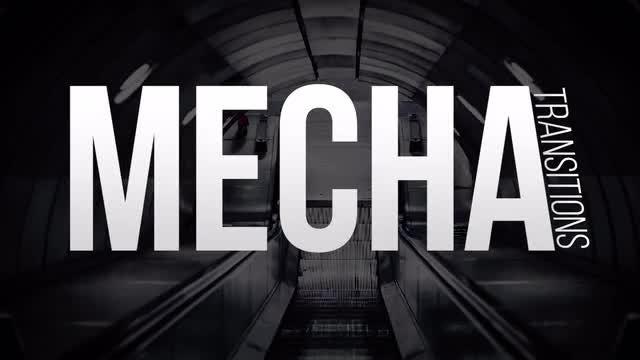 Mechanical Transitions: Premiere Pro Templates