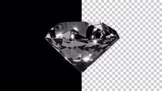 Revolving Diamond With An Alpha Channel: Stock Motion Graphics