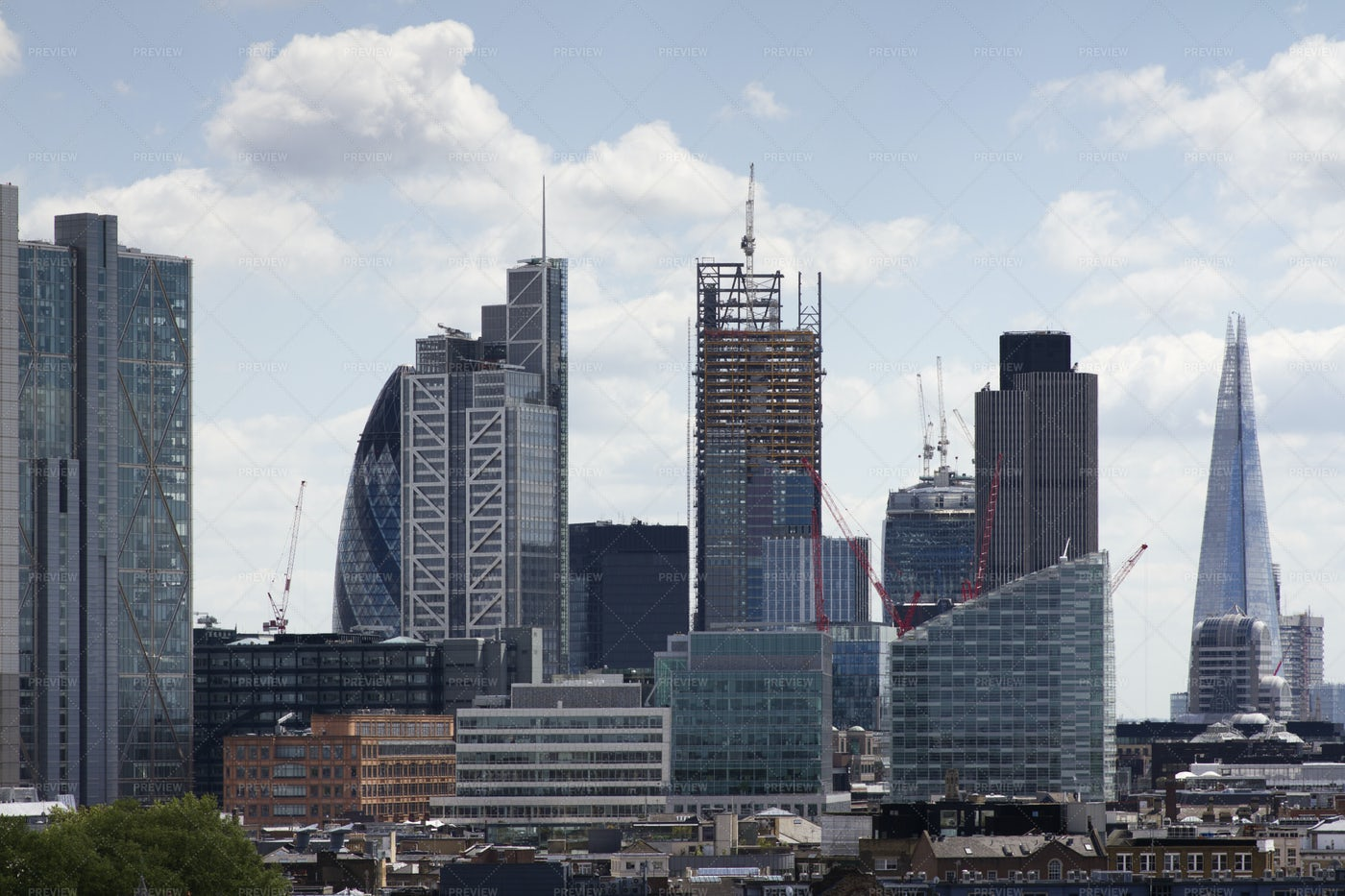London's Skyline: Stock Photos