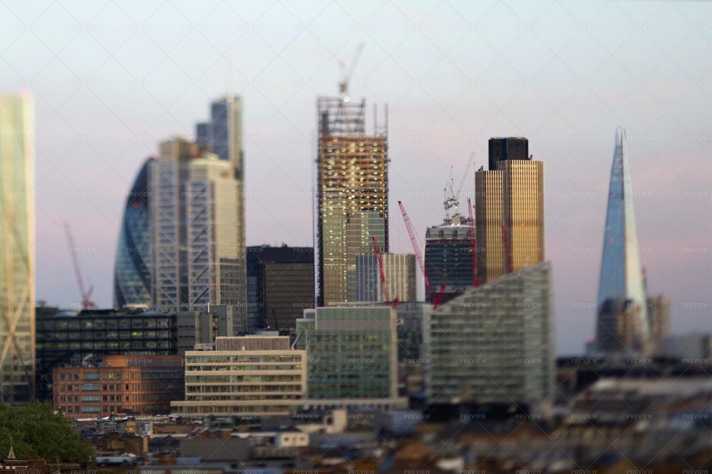 The London Skyline: Stock Photos