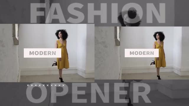 Fashion Opener: Premiere Pro Templates