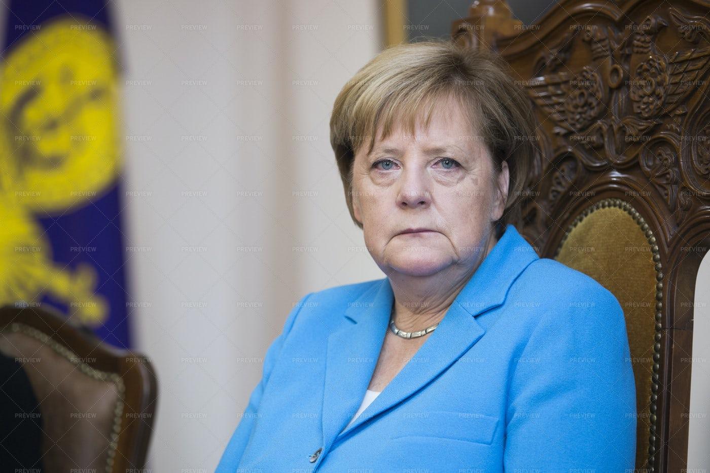 German Chancellor Angela Merkel: Stock Photos