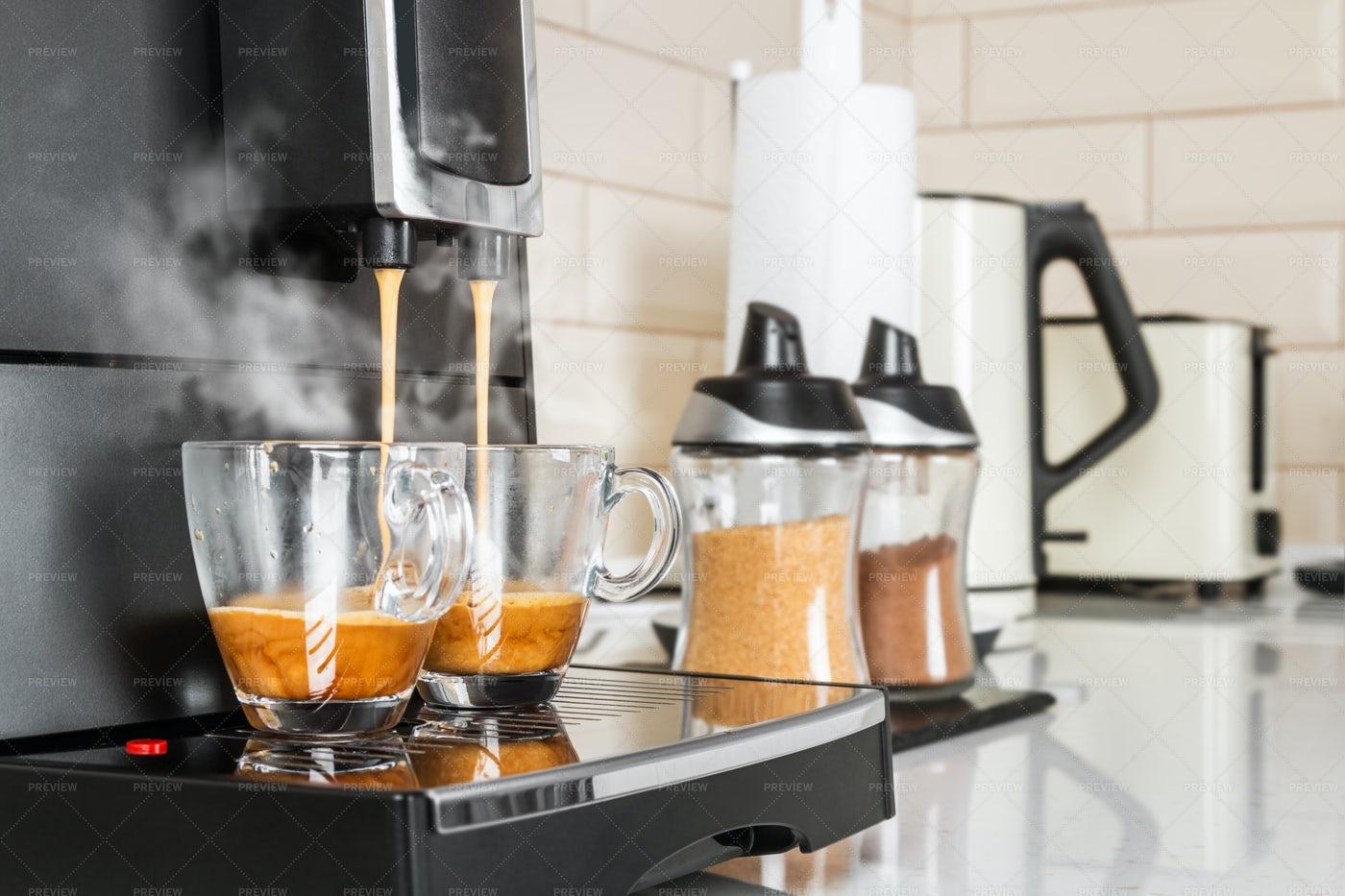 Coffee Machine: Stock Photos