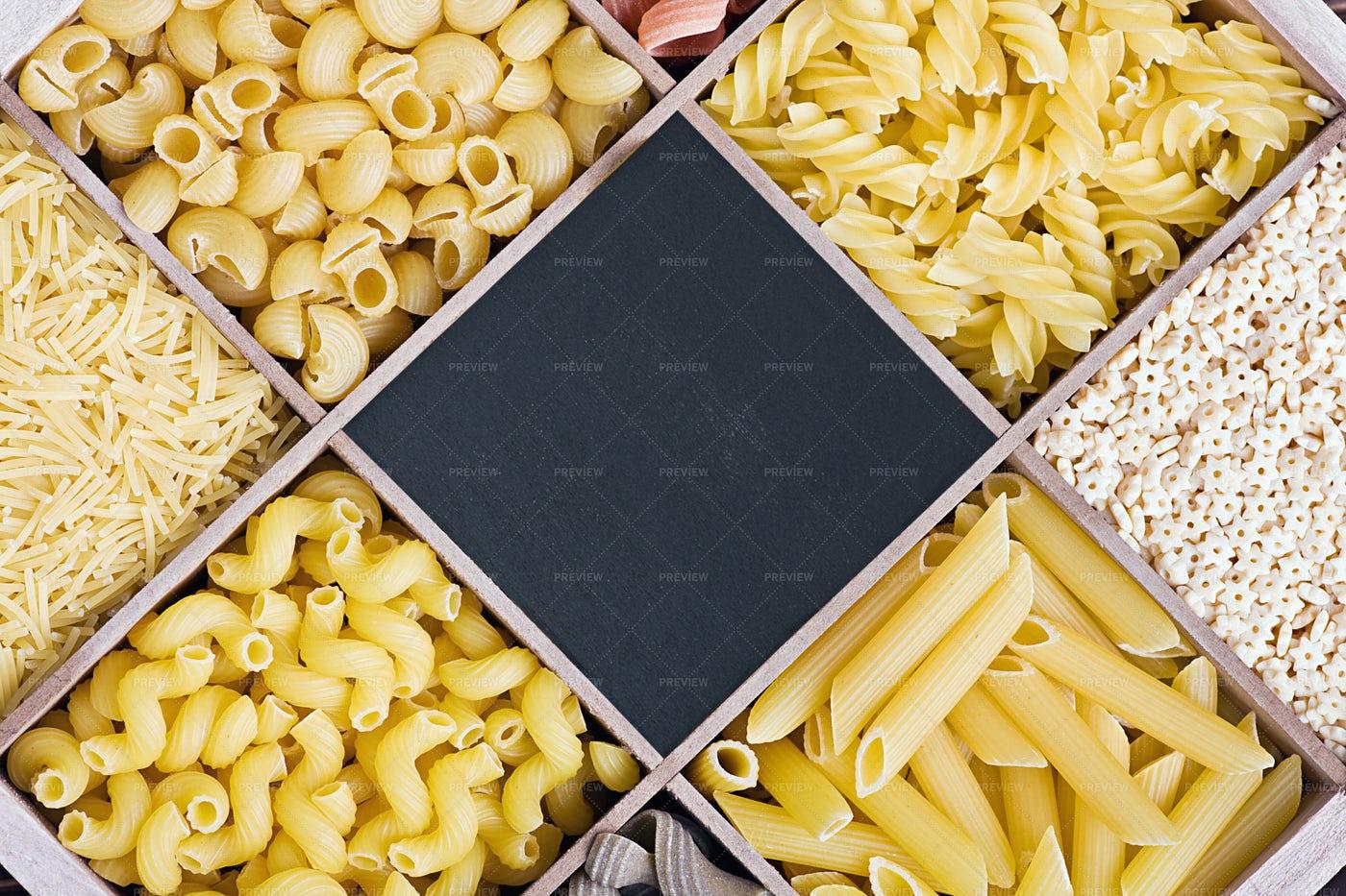 Pasta Assortment: Stock Photos