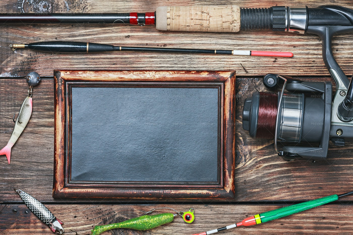 Fishing Accessories: Stock Photos