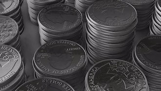 Stacks of Shiny Quarters: Motion Graphics