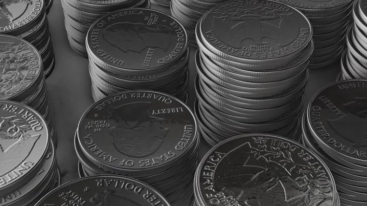 Stacks of Shiny Quarters: Motion Graphics
