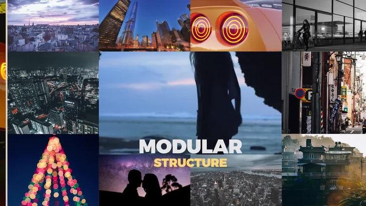 Multiframe Slideshow: Premiere Pro Templates