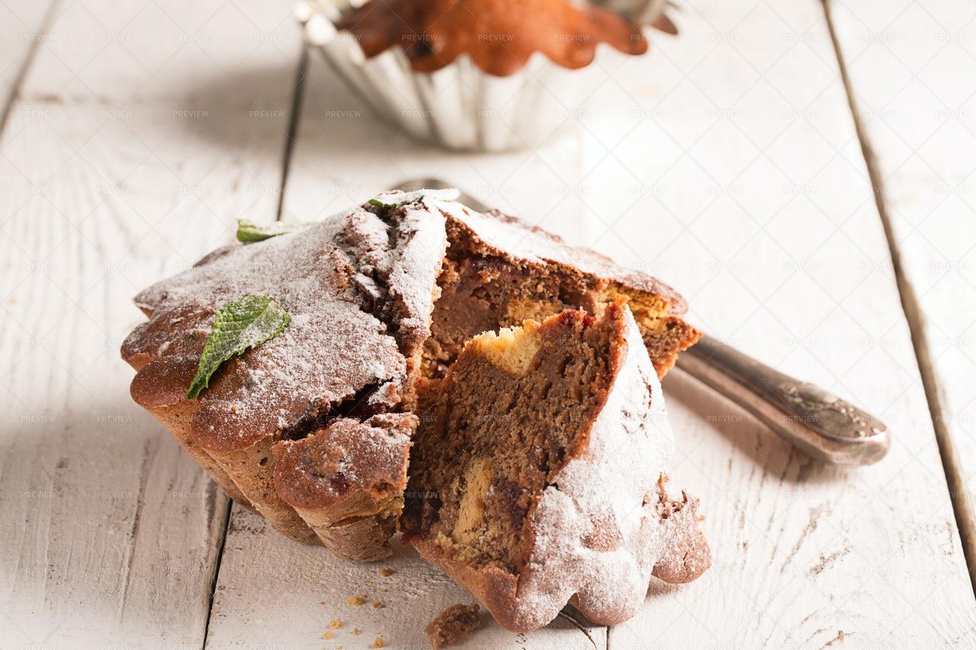 Chocolate Cupcake: Stock Photos