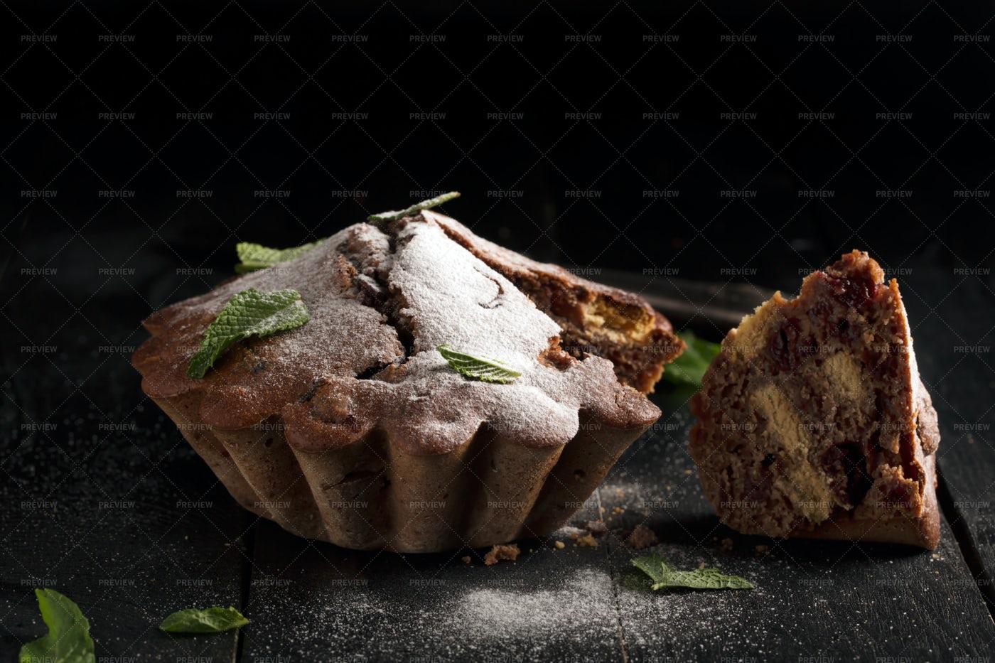 A Piece Of Chocolate Cake: Stock Photos