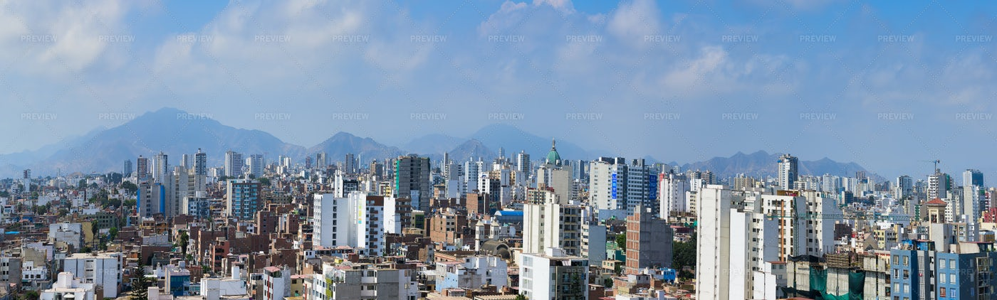 Lima Panorama: Stock Photos
