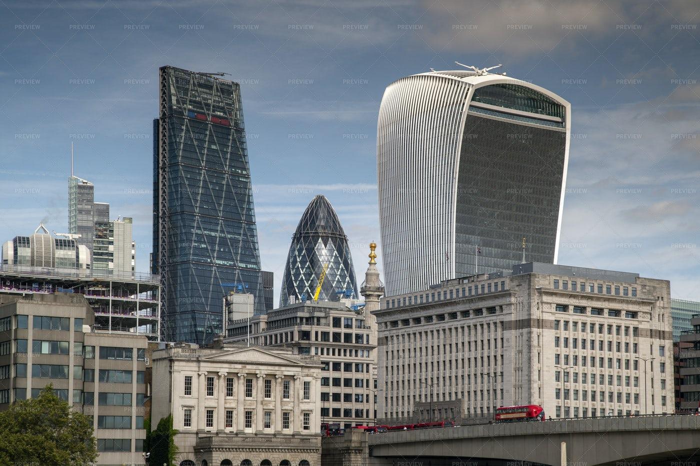London Financial District: Stock Photos