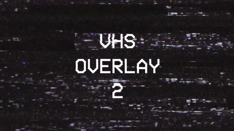 VHS Overlay 2: Motion Graphics