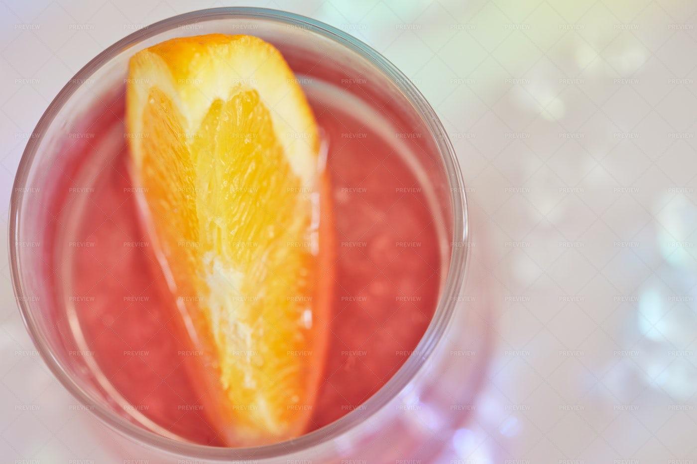 Tasty Negroni Cocktails: Stock Photos