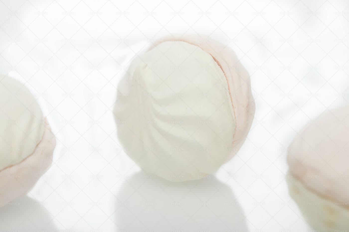 Marshmallow Close-Up: Stock Photos