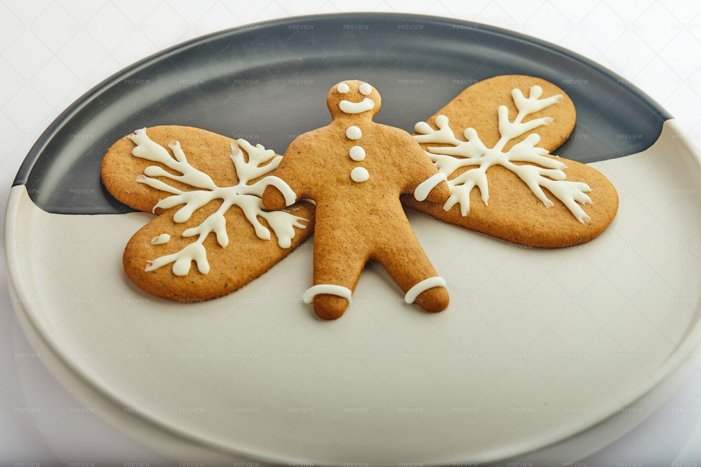 Gingerbread Cookies: Stock Photos