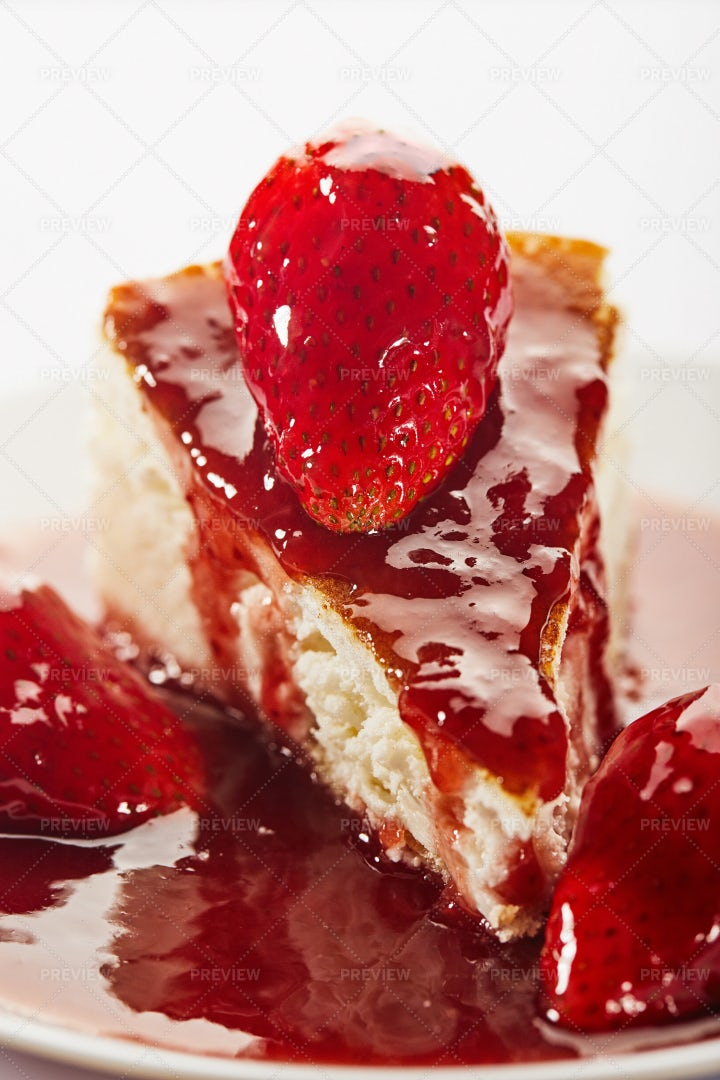 Strawberry Cheesecake: Stock Photos