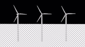 Wind Turbines With An Alpha Channel: Motion Graphics