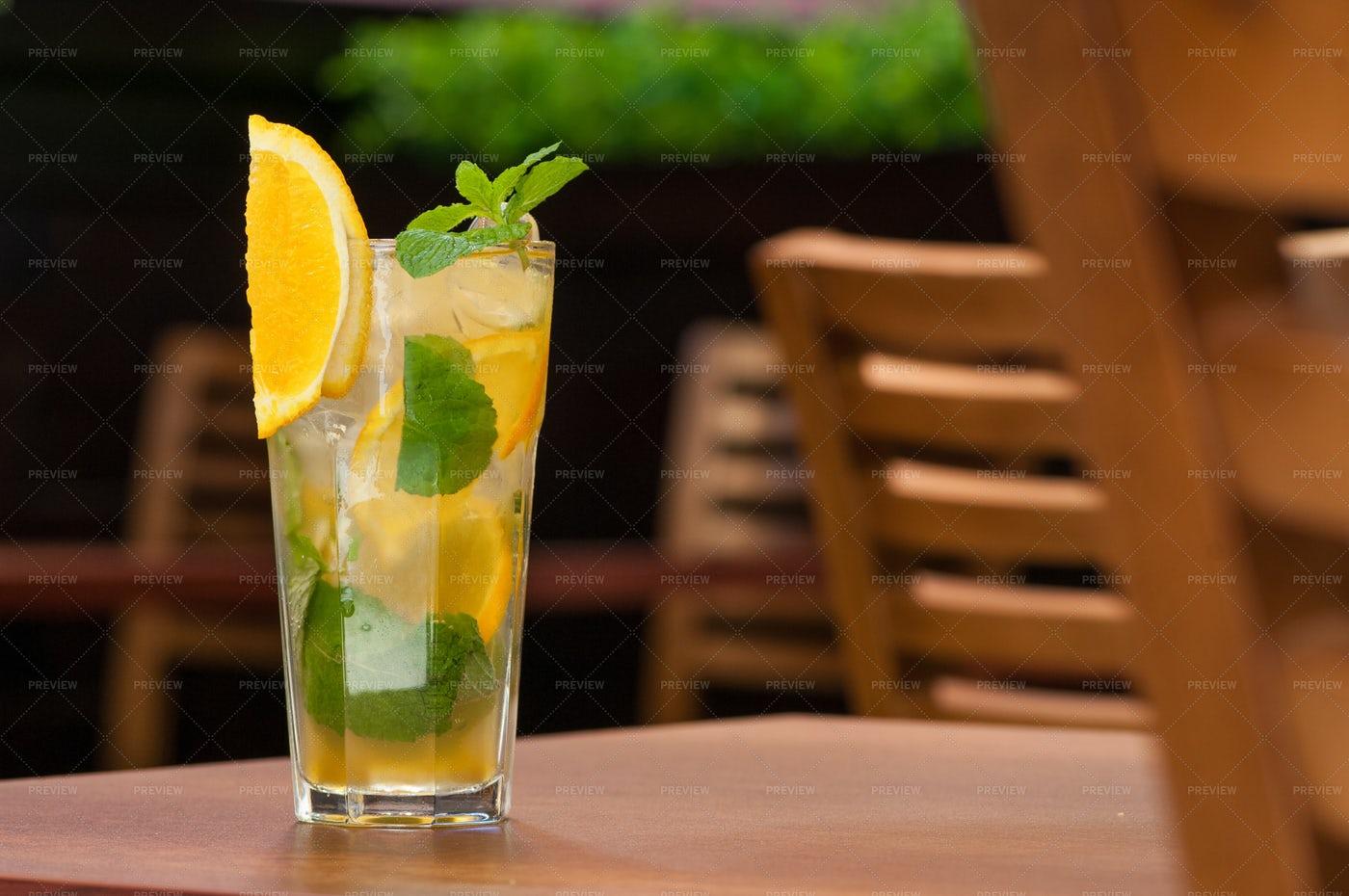 Cold Lemon Drink: Stock Photos