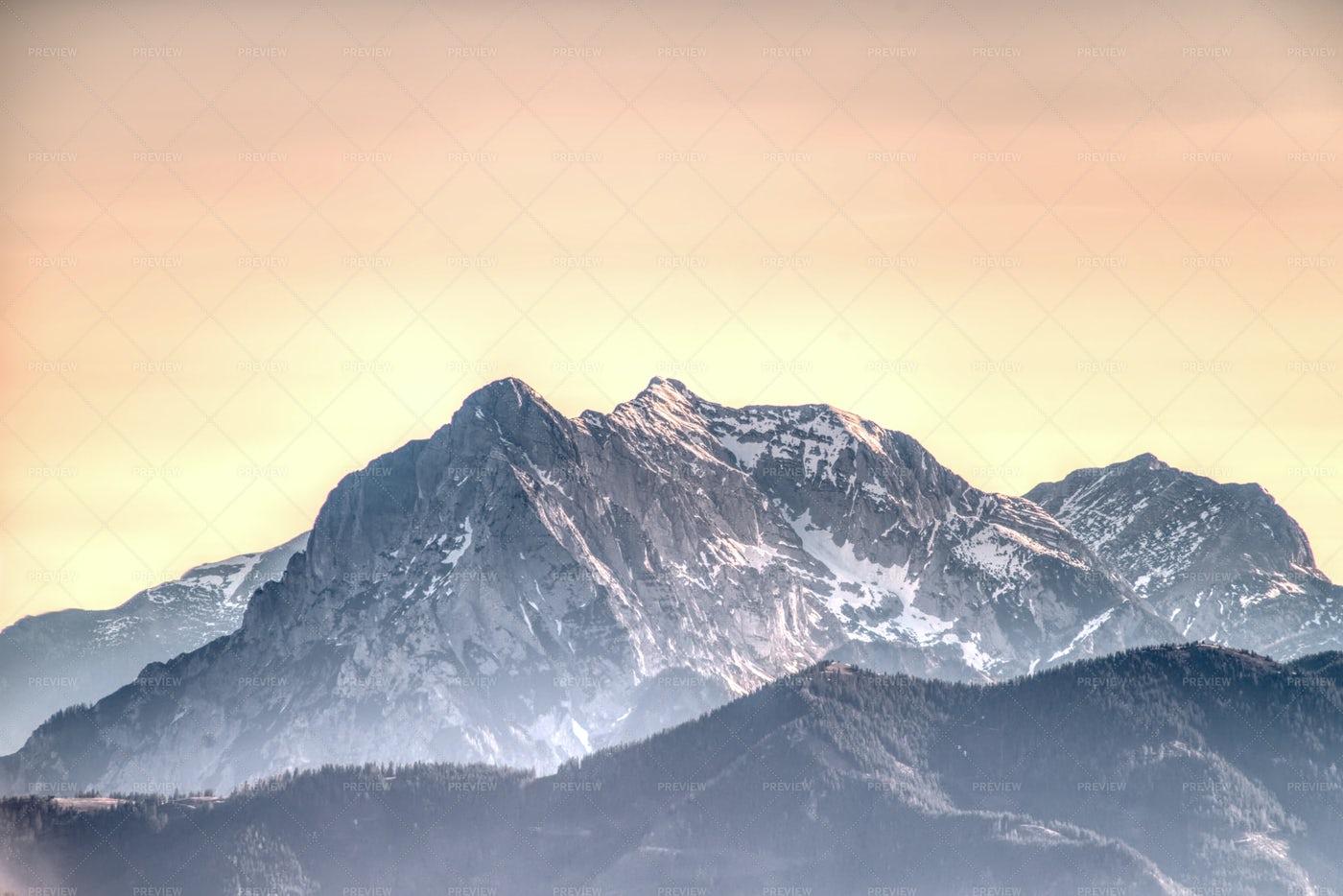 Mountain Hochtor: Stock Photos