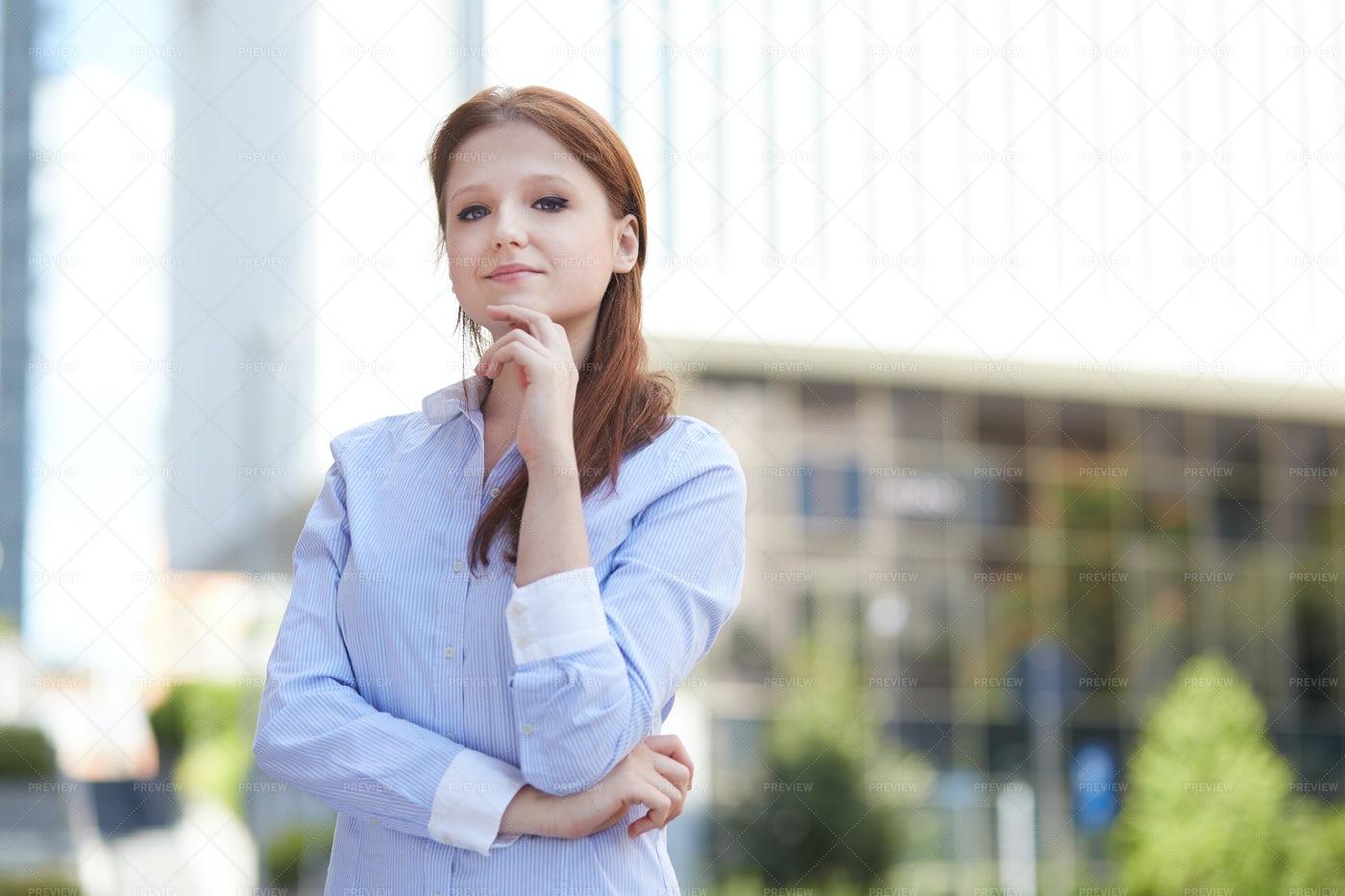 Young Businesswoman: Stock Photos
