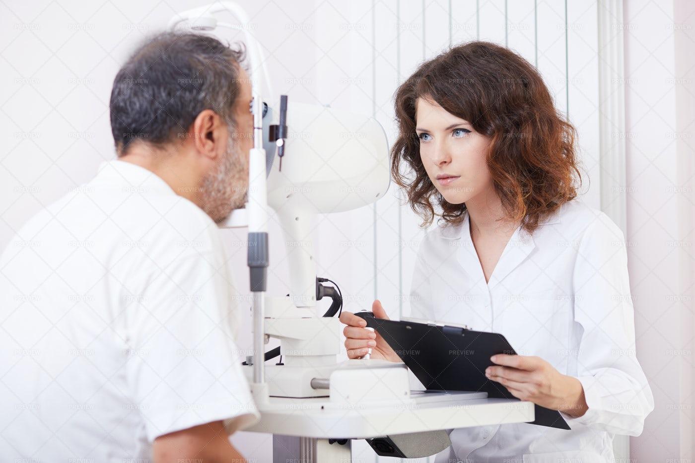 Optician Test: Stock Photos