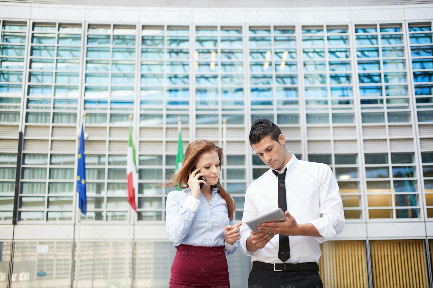 Work Outside An Office: Stock Photos
