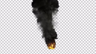 Large Scale Smoke And Fire: Motion Graphics