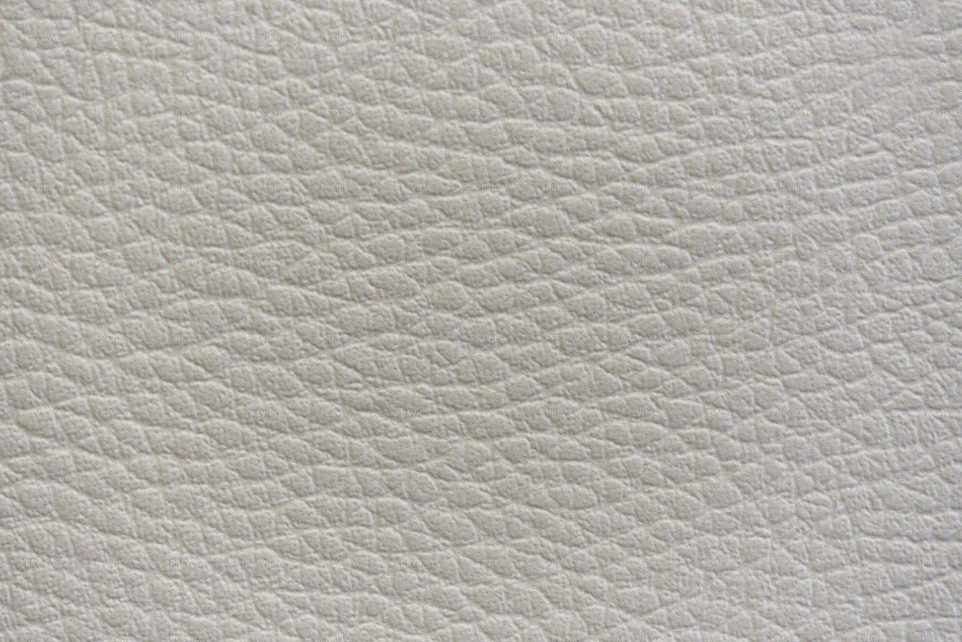 White Leather.: Stock Photos