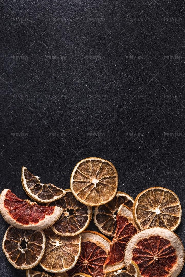 Dried Citrus Slices: Stock Photos