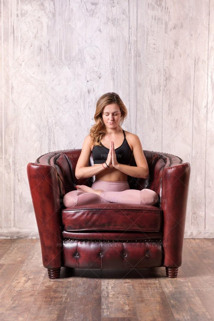 Armchair Meditation: Stock Photos